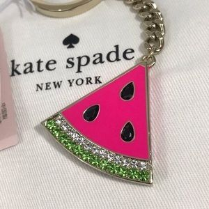 Kate Spade Watermelon Crystal Key Fob/ Key Chain